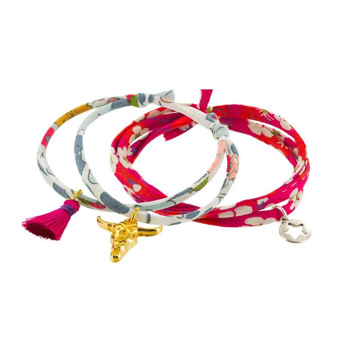 Bracelet duo Kit liberty Betsi et Mitsi