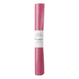 Coupon de Flex thermocollant rose pailleté 50 x 25 cm