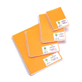 Carnet Dessin Notes couverture polypropylène Orange 50 F