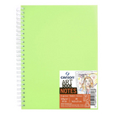 Carnet Dessin Notes couverture polypropylène Vert 50 F