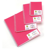 Carnet Dessin Notes couverture polypropylène Rose 50 F