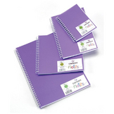 Carnet Dessin Notes couverture polypropylène Violet 50 F