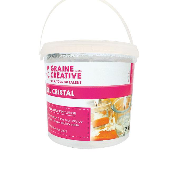 Gel à bougie Cristal 2 kg
