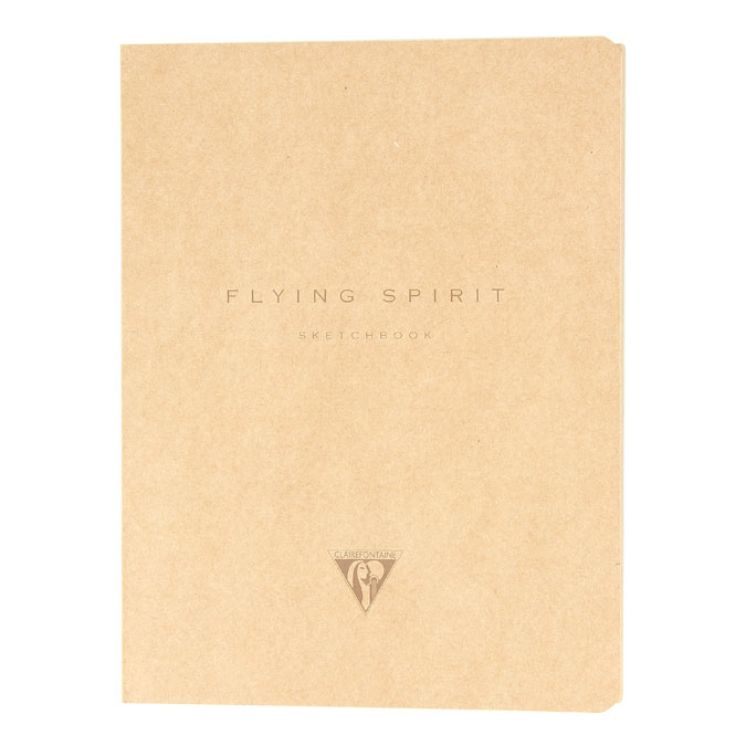 Carnet de dessin Flying Spirit kraft 90 g/m²