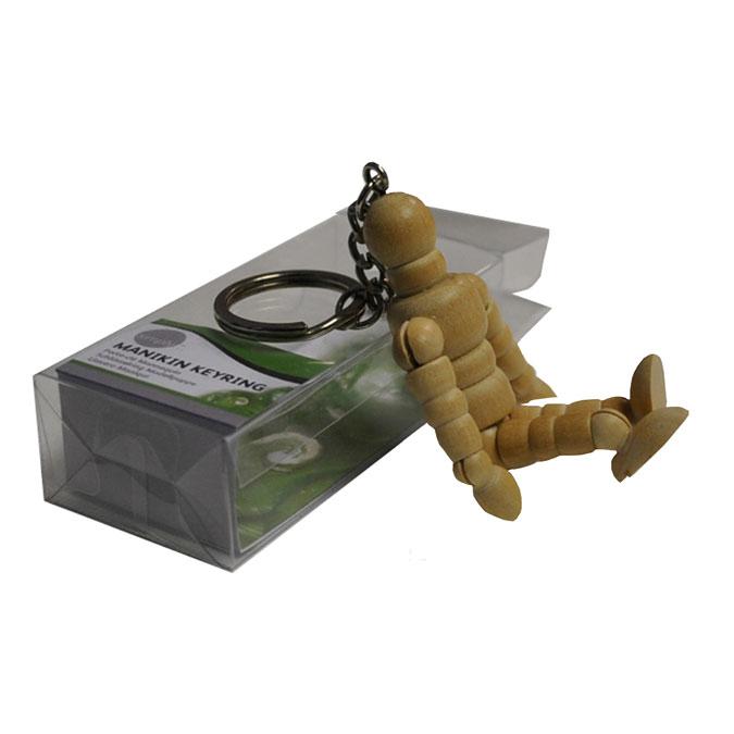 Mannequin en bois Porte-clés 7.5 cm Simply