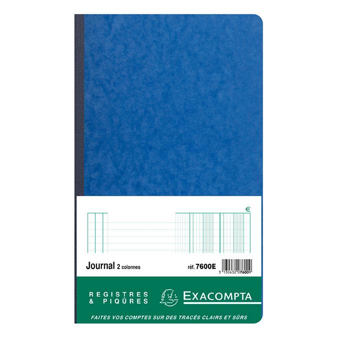 Journal folioté 32 x 19,5 cm 19 p
