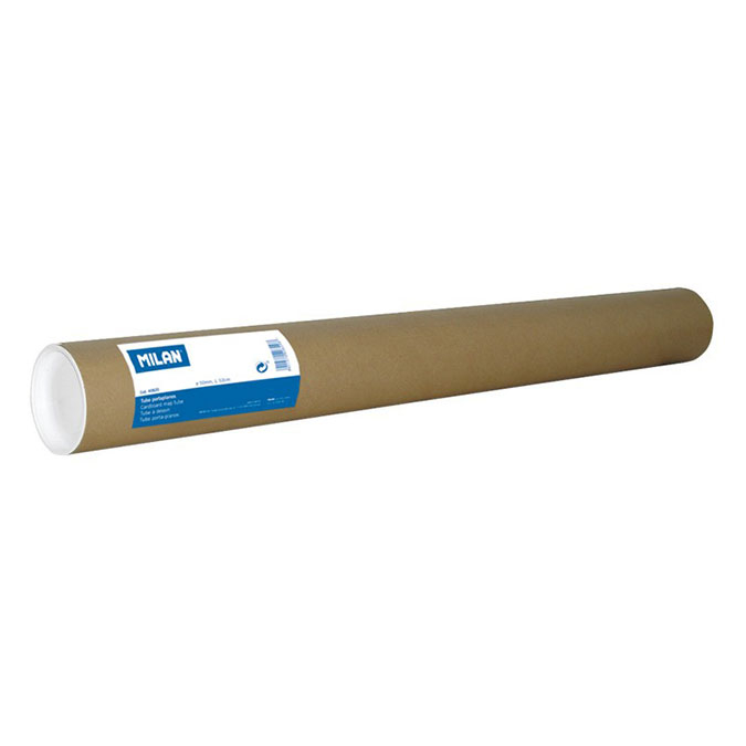 Tube de transport Porte-plans Ø 75 mm L.75 cm