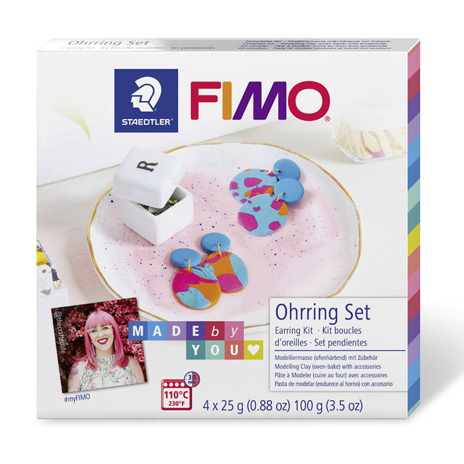 Kit FIMO Soft Made by you Boucles d'oreilles