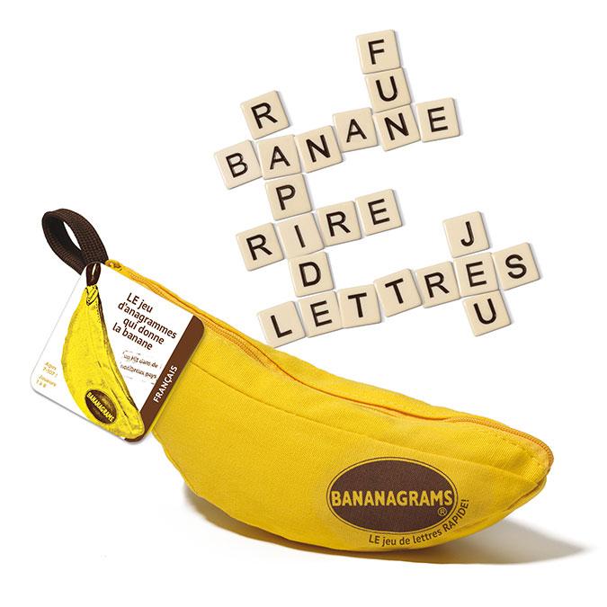 Jeu de lettres Bananagrams