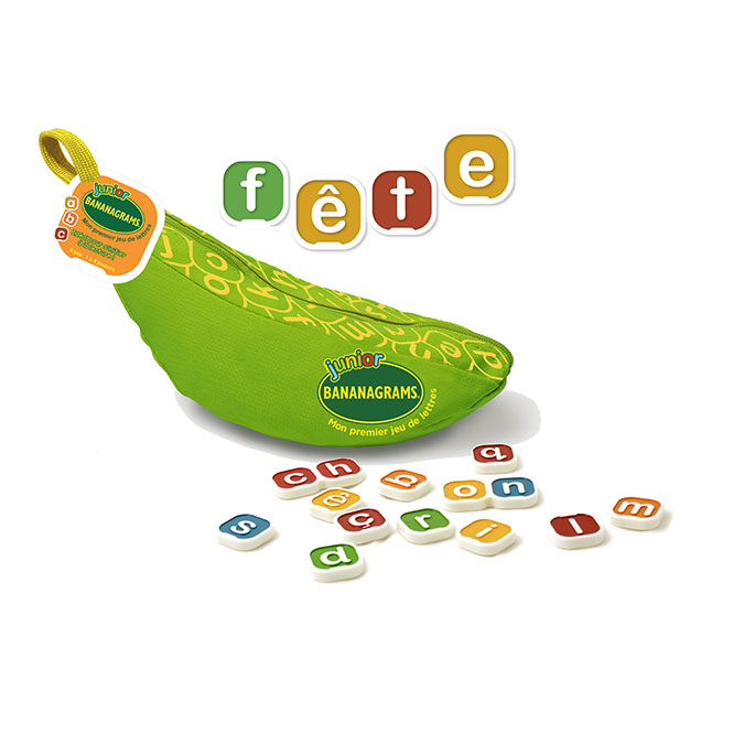 Jeu de lettres Bananagrams Junior