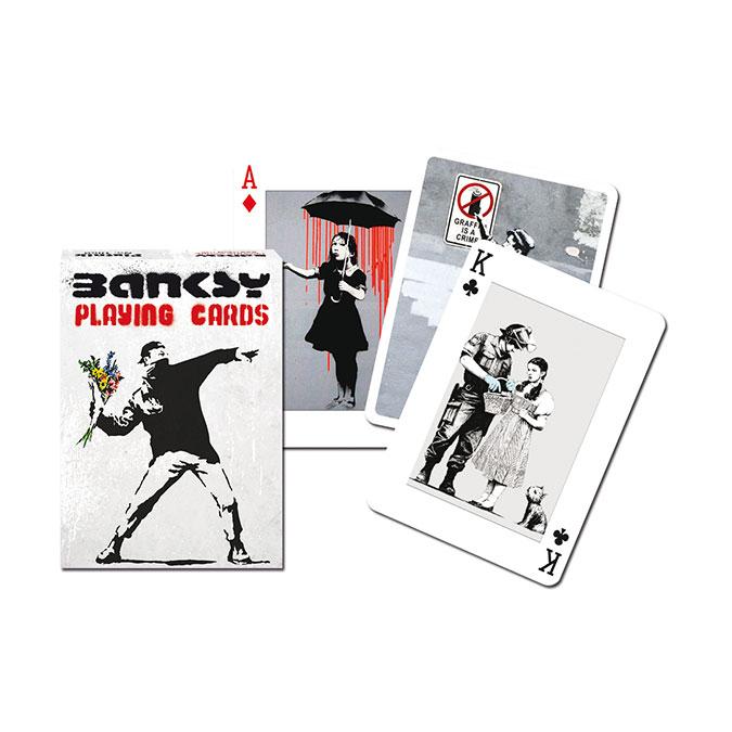 Jeu de cartes Bansky