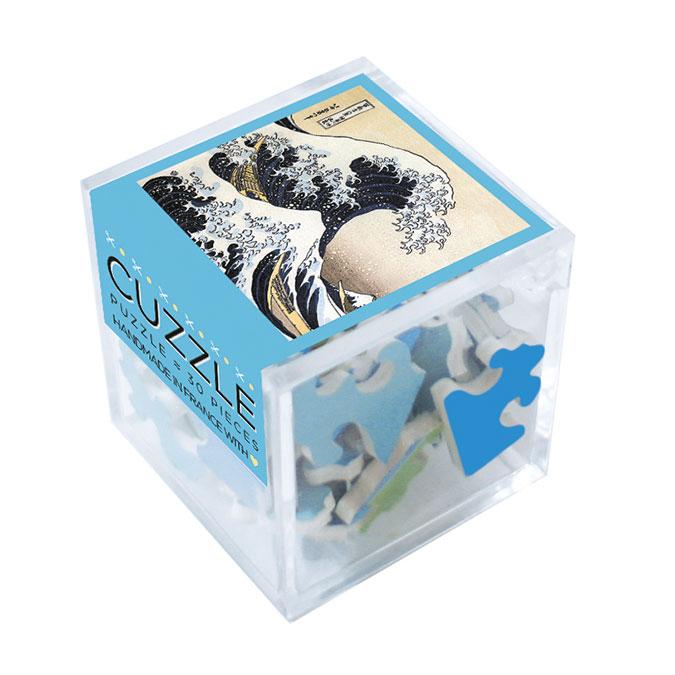 Puzzle en bois 30 pièces Hokusai La vague