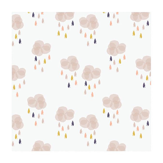Coupon de tissu Autumn rain 1277 - 50 x 110 cm