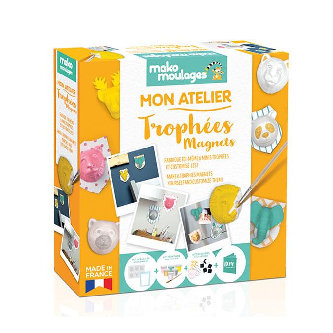 Atelier moulage Trophées magnet