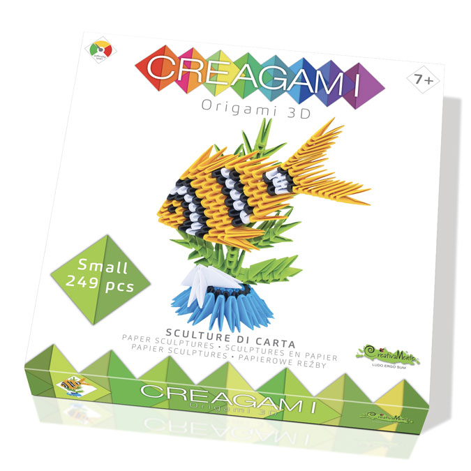 Origami 3D Creagami Poisson S