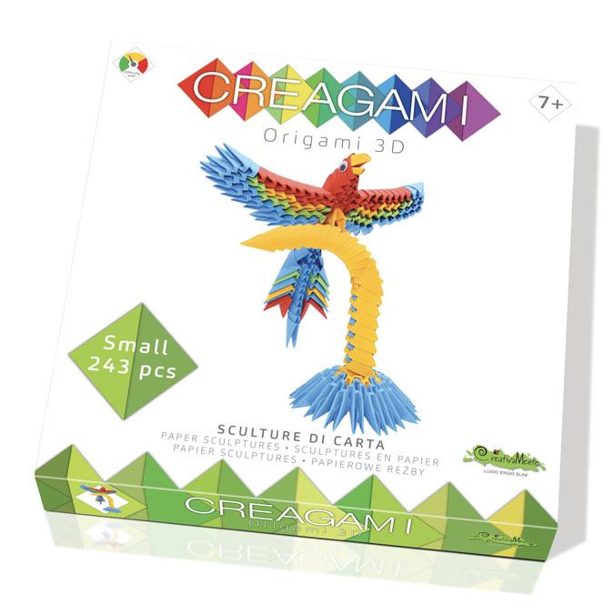 Origami 3D Creagami Perroquet S