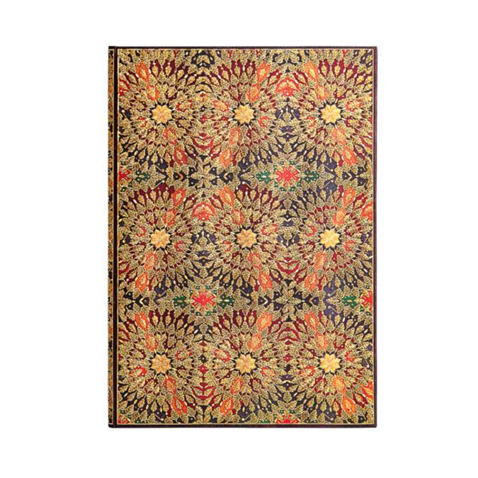 Carnet Fleurs de feu 21 x 30 cm 120 g/m² 128 p