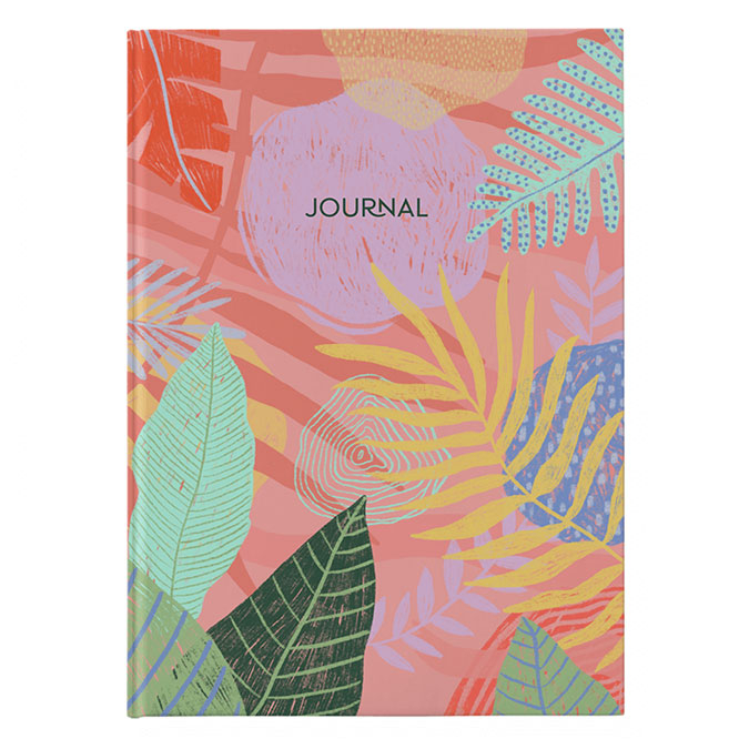 Carnet A5 Journal corail