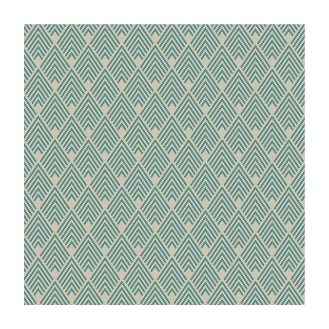 Coupon de tissu Wax imprimé Inca 2 - 150 x 160 cm