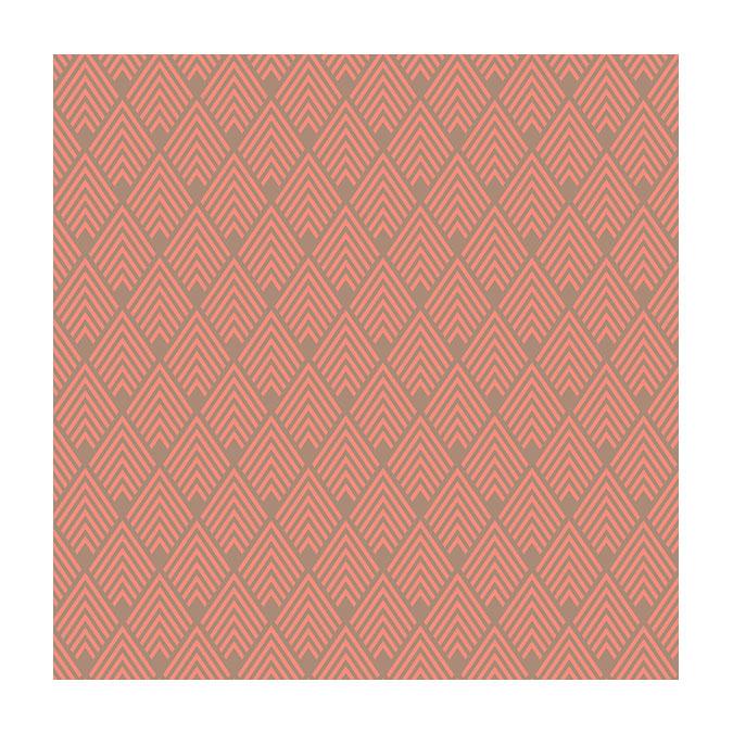 Coupon de tissu Wax imprimé Inca 6 - 150 x 160 cm
