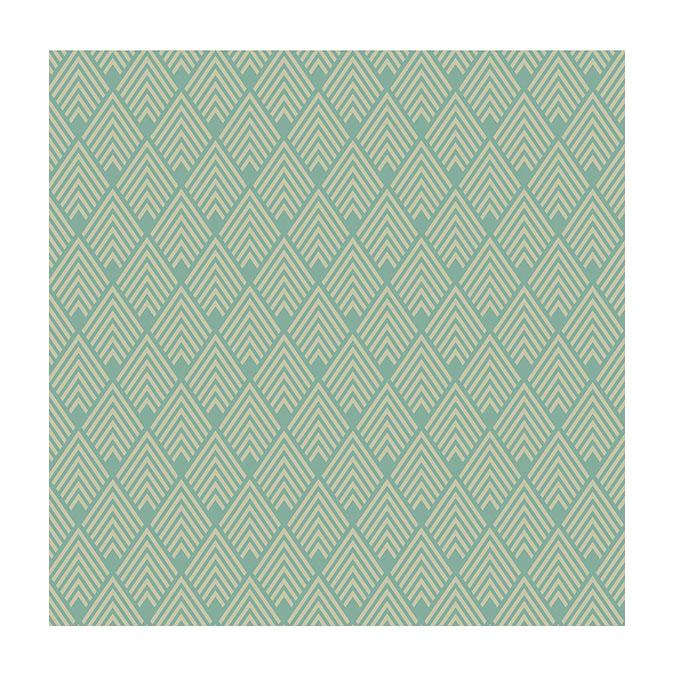 Coupon de tissu Wax imprimé Inca 7 - 150 x 160 cm