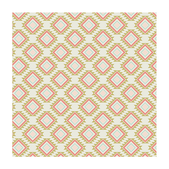 Coupon de tissu Wax imprimé Maya 2 - 150 x 160 cm