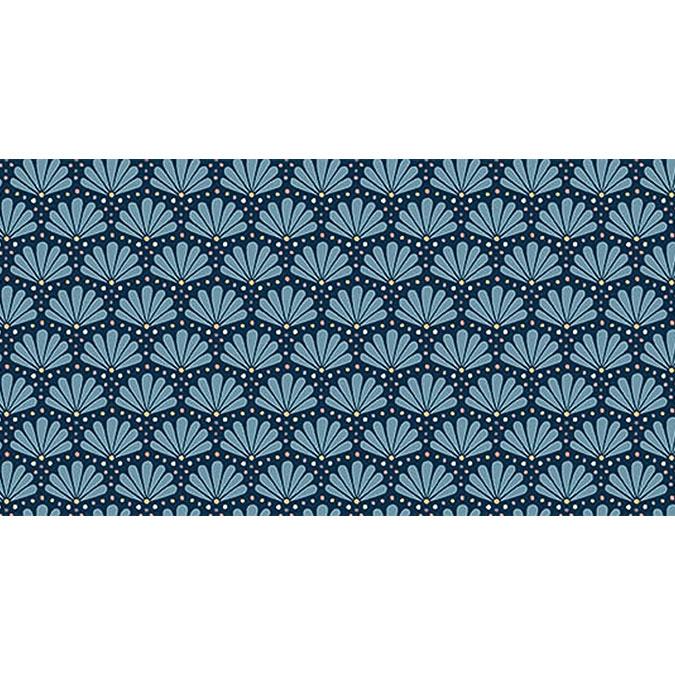 Coupon de tissu Wax imprimé Ethnique Sahara 30 - 150 x 160 cm