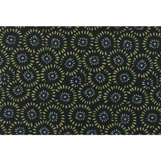 Coupon de tissu Wax imprimé Ethnique Sahara 42 - 150 x 160 cm
