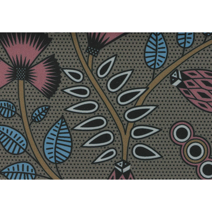 Coupon de tissu Wax imprimé Ethnique Himalaya 4 - 150 x 160 cm