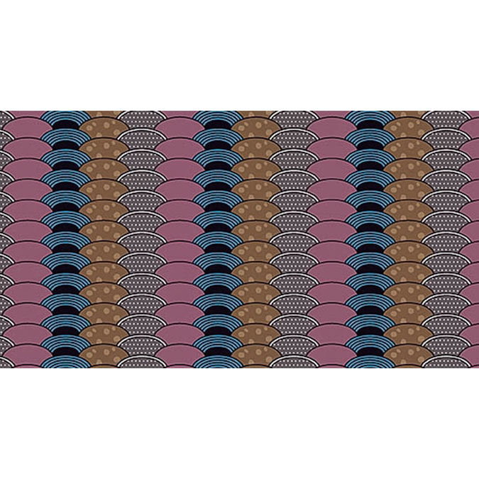 Coupon de tissu Wax imprimé Ethnique Himalaya 5 - 150 x 160 cm