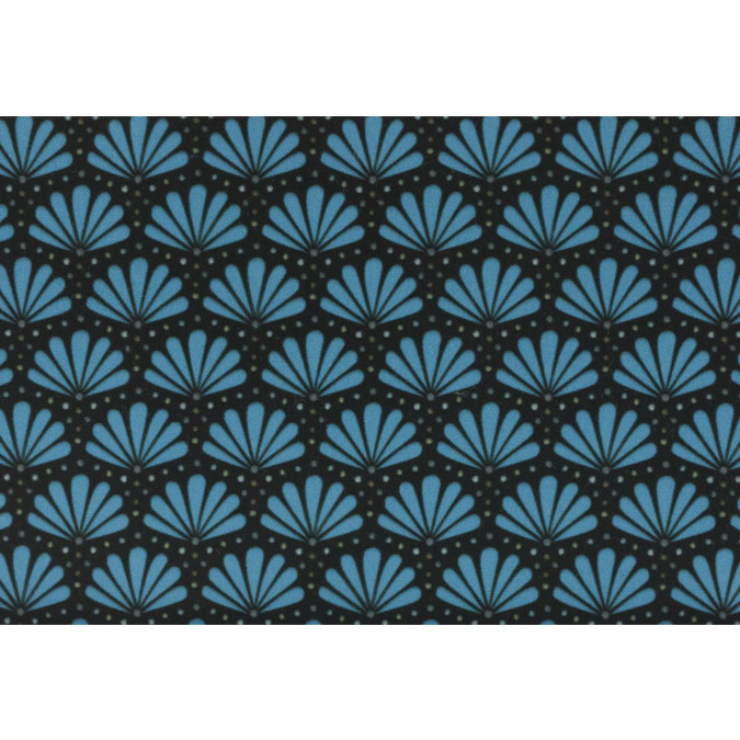 Coupon de tissu Wax imprimé Ethnique Himalaya 26 - 150 x 160 cm