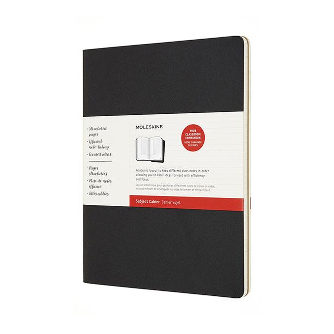 Cahier Sujet 21,59 x 27,94 cm 2 pcs Noir & Kraft