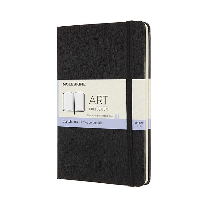Carnet de croquis Art 11,5 x 17,5 cm Noir
