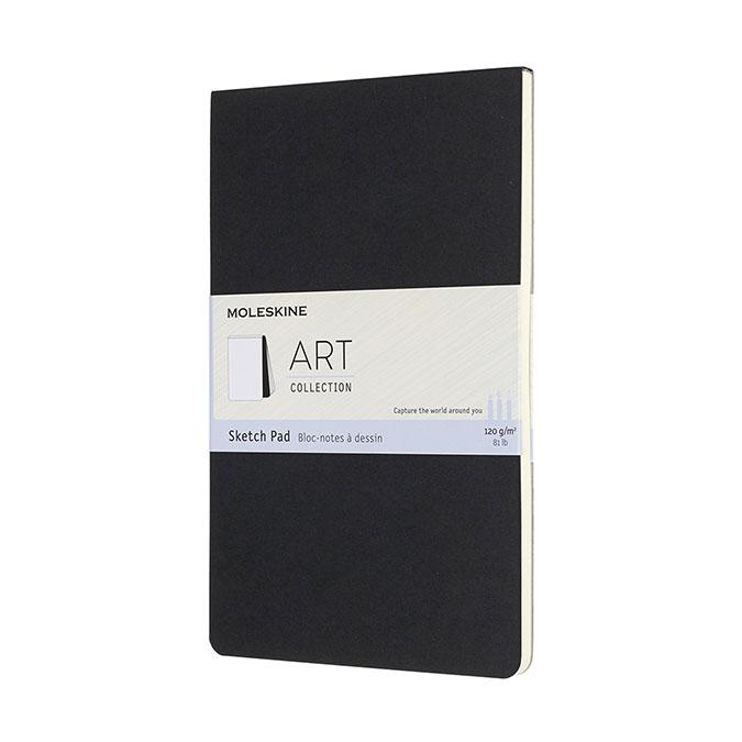 Carnet de croquis Art 13 x 21 cm Noir