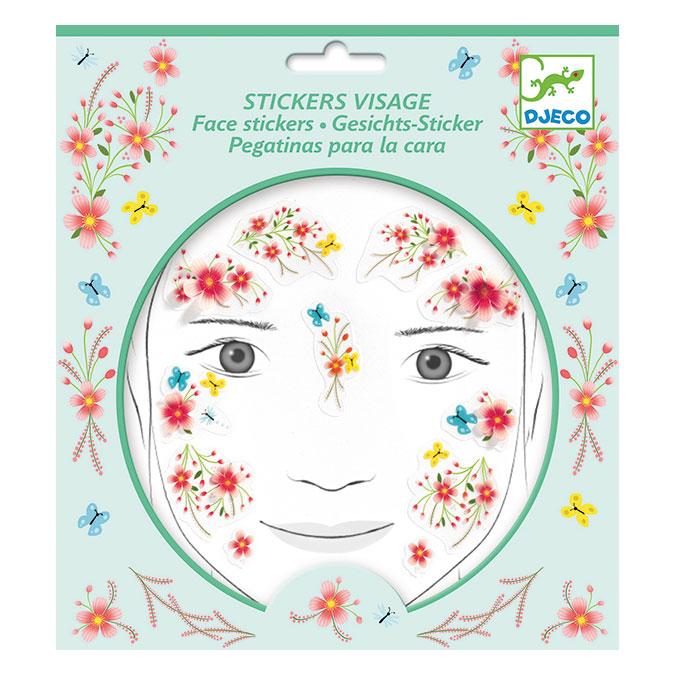 Stickers pour le visage Fée du printemps