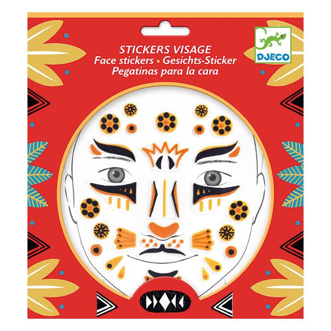 Stickers pour le visage Léopard