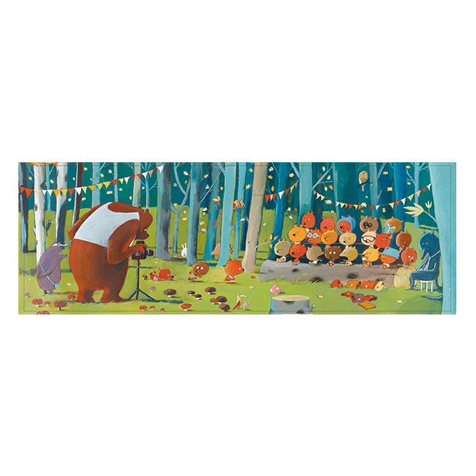 Puzzle Gallery Forest friends 100 pièces