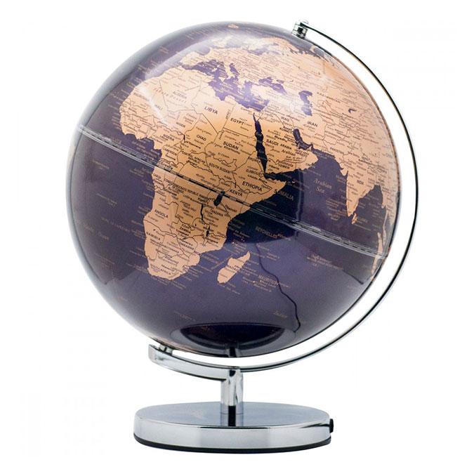 Globe terrestre Politique Ø 30 cm Lumineux et tactile