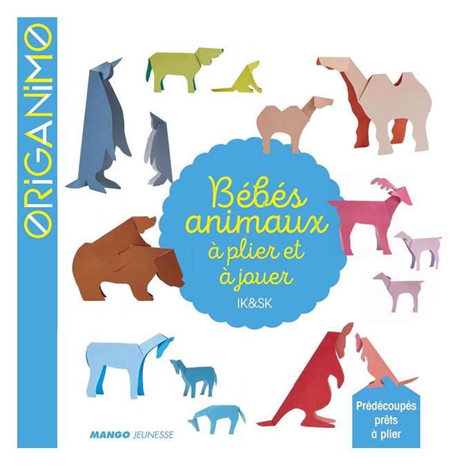 Livre Bébés animaux à plier et à jouer