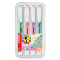Surligneur Swing Cool pastel Set de 4