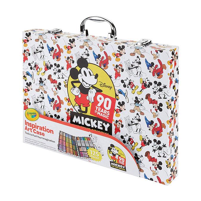 Mallette de l'artiste Mickey 90 ans