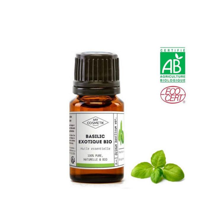 Huile essentielle de basilic exotique BIO (AB) 5 ml