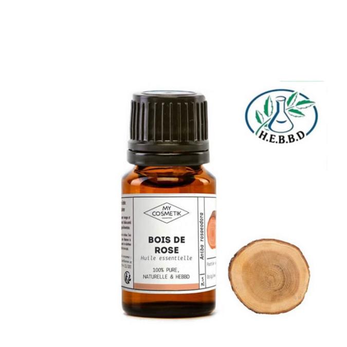 Huile essentielle de bois de rose BIO (AB) 10 ml