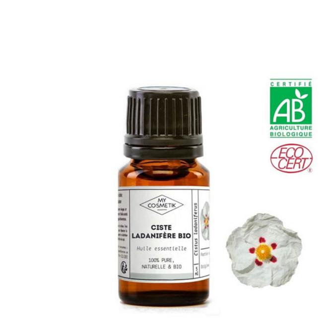 Huile essentielle de ciste ladanifère BIO 5 ml (AB)