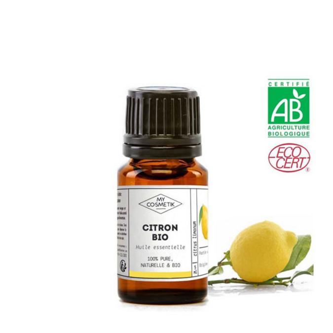 Huile essentielle de citron BIO (AB) 10 ml