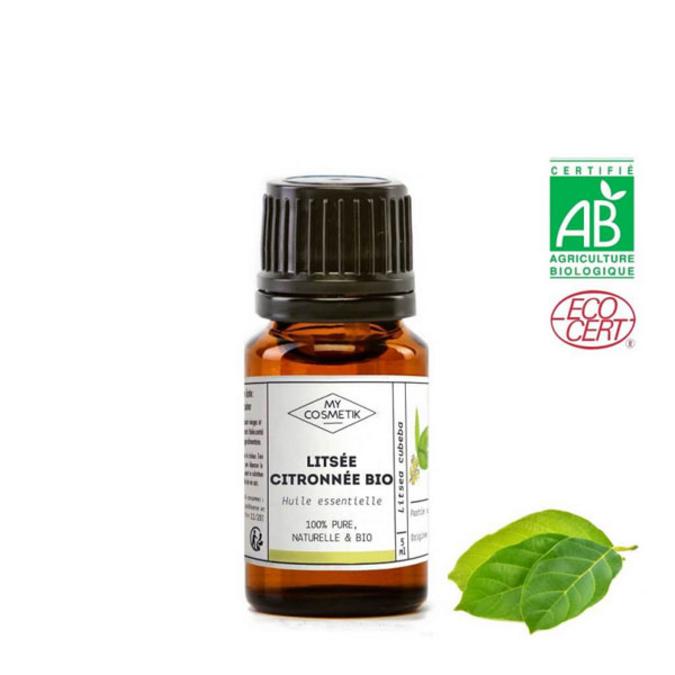 Huile essentielle de litsée citronnée (verveine exotique) BIO (AB) 5 ml