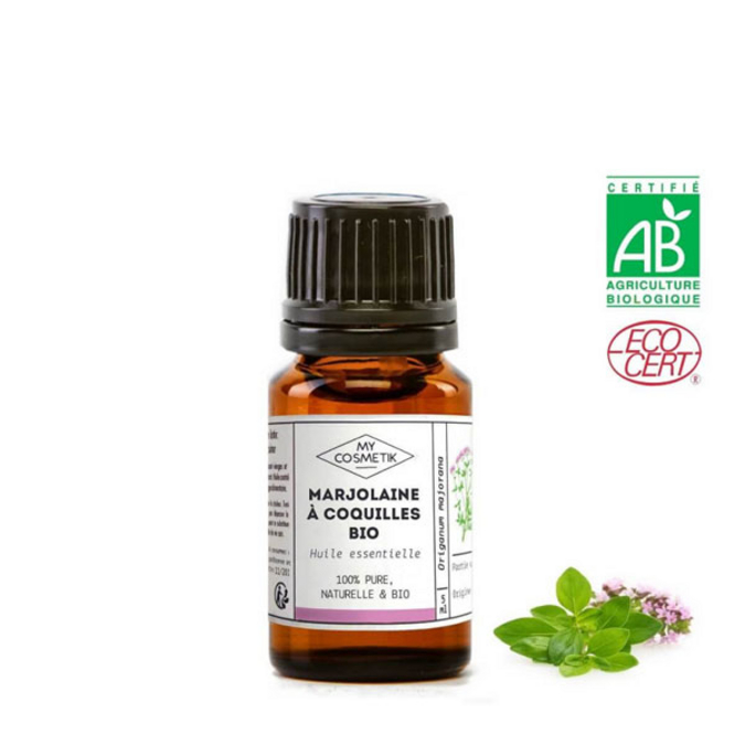Huile essentielle de marjolaine à coquilles BIO (AB) 10 ml