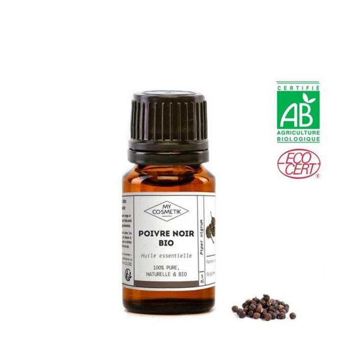 Huile essentielle de poivre noir BIO (AB) 30 ml