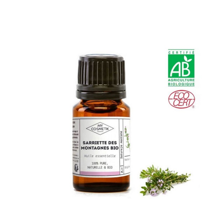 Huile essentielle de sarriette des montagnes BIO (AB) 5 ml