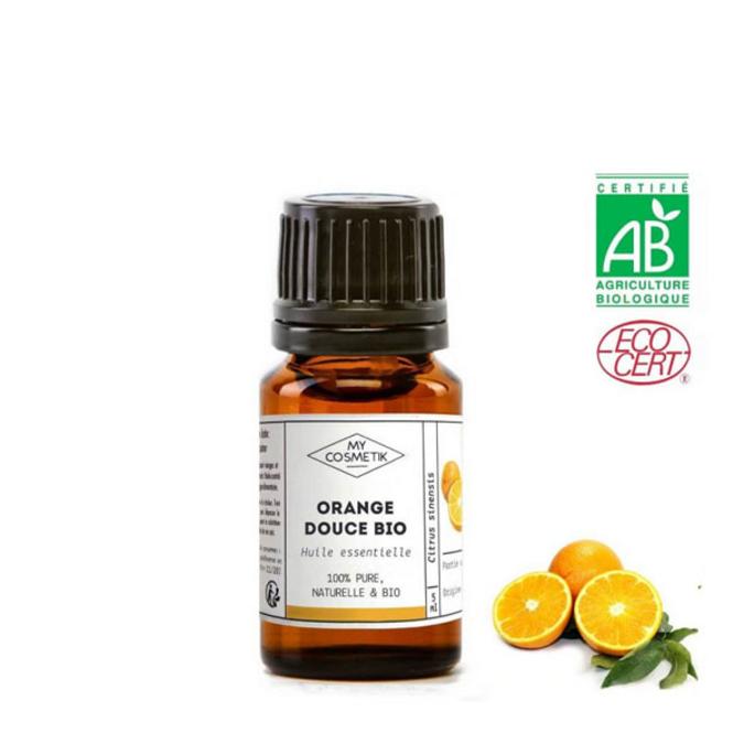 Huile essentielle d'orange douce BIO (AB) 10 ml